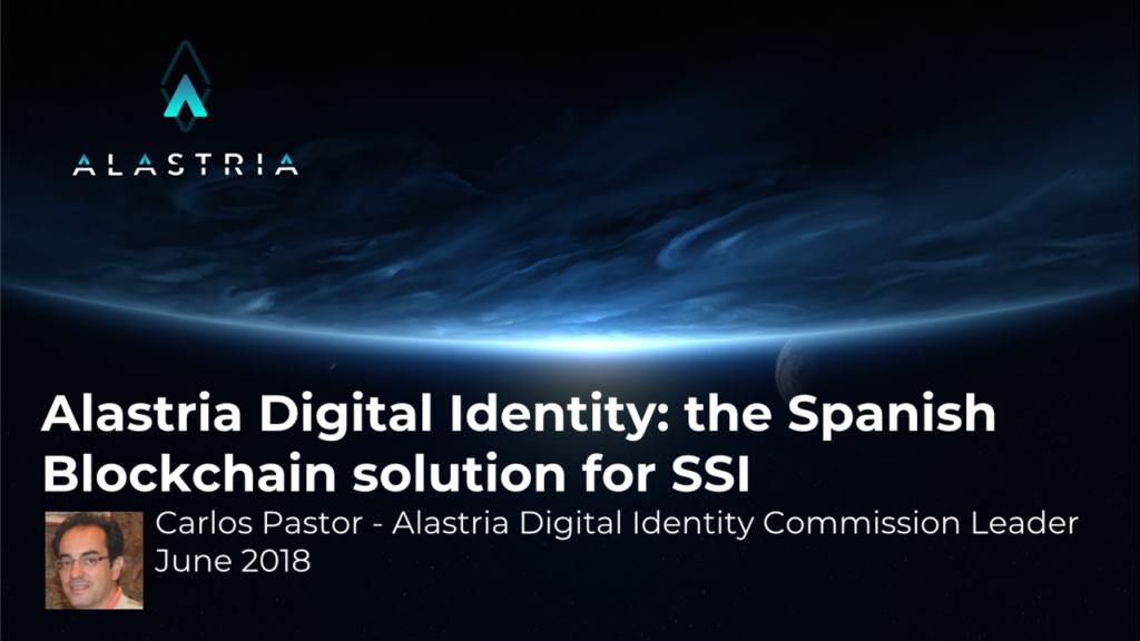 Webinar 7 Alastria Digital Identity