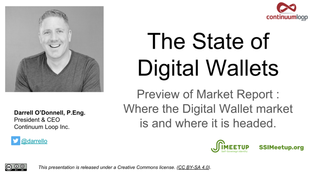 Webinar 22 The State of Digital Wallets Darrell O'Donnell
